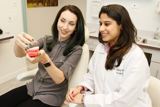 Invisalign consultation with Dr. Bhave