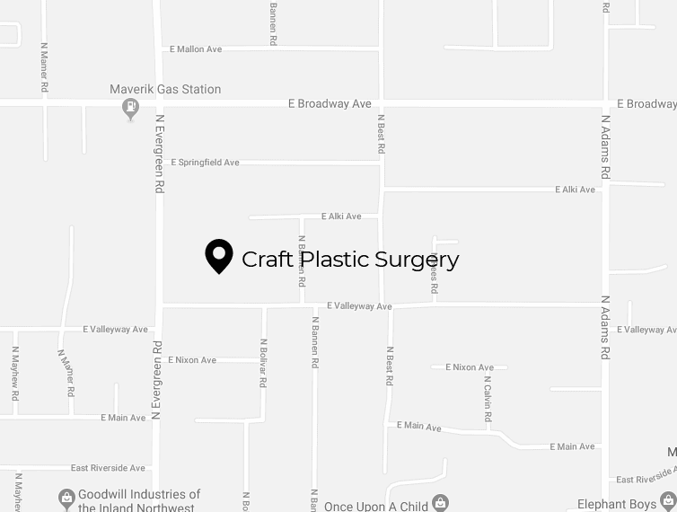 Location of Miami Plastic Surgery Office