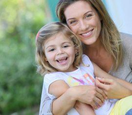 Model for Mommy Makeover Blog