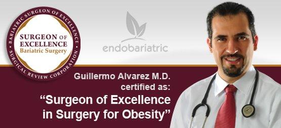Bariatric surgeon Dr. Guillermo Alvarez