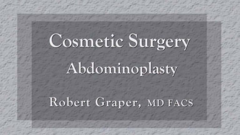 Abdominoplasty education at Dr. Graper's Seminar