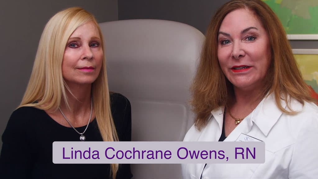Juvederm Video with Linda Cochrane Owens, RN
