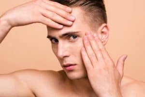 Male Model on Portland Face Doctor Male Brow Lift Page
