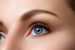 Model on Portland Face Doctor Upper Eyelid Surgery Page