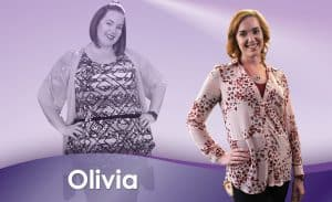 Before and After Weight Loss Olivia