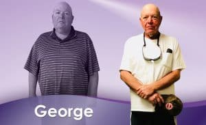 Before and After Weight Loss George
