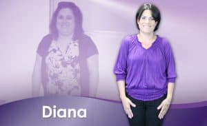 Before and After Weight Loss Diana