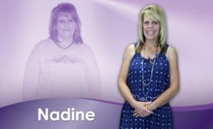 Before and After Weight Loss Nadine