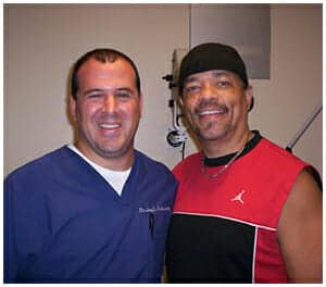 Dr. Schwartz & patient rapper Ice-T
