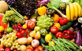 nutrition for healthy eyes - fruits and veggies