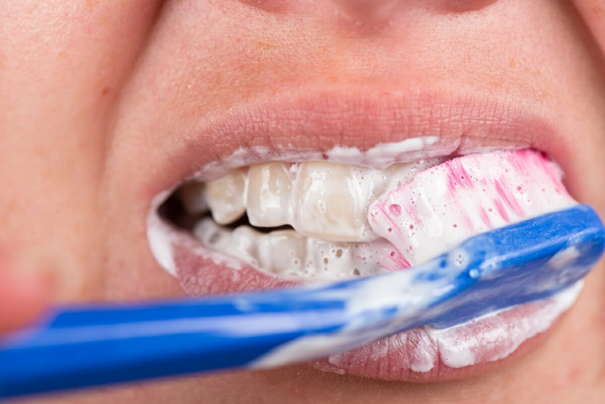 Oral health, brushing your teeth